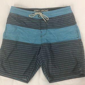 Billabong Lo Tide Board Shorts Swim Sz L 30